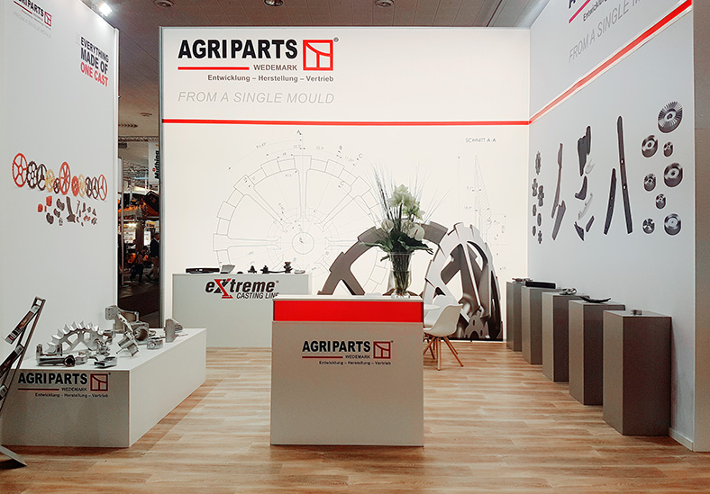 AGRIPARTS Messestand