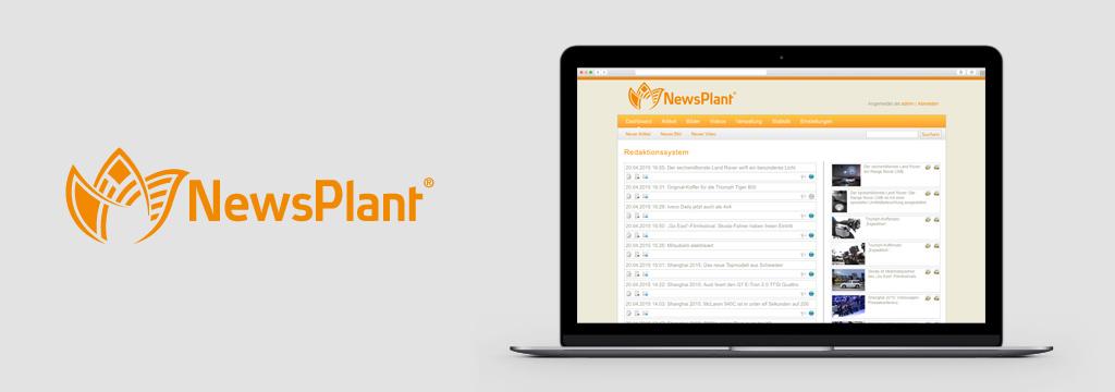 Nachrichtenportal-Software - NewsPlant