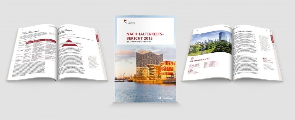 Holcim (Deutschland) GmbH - Nachhaltigkeitsbericht - 2015