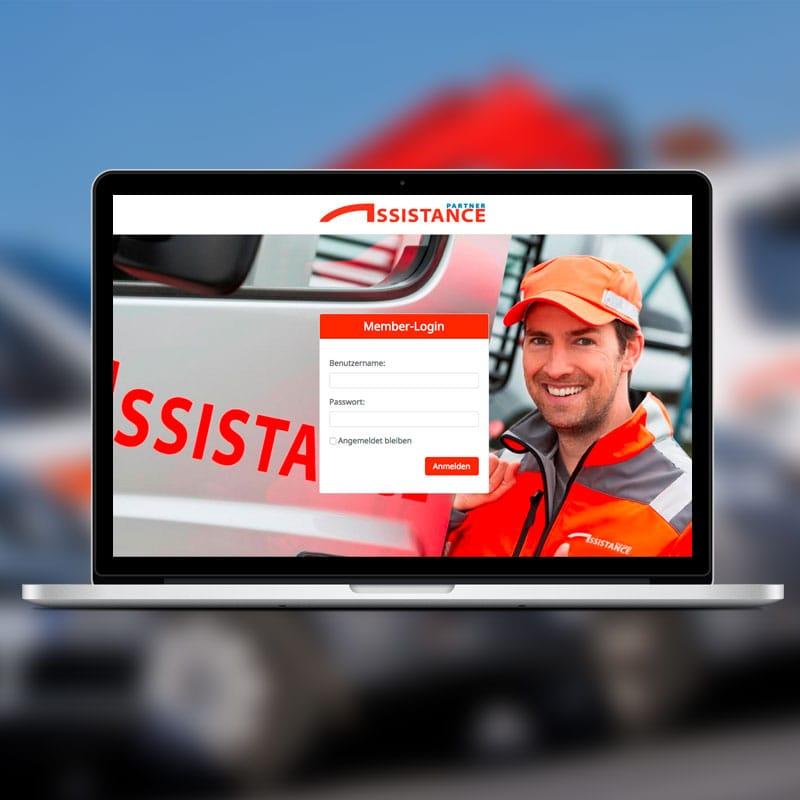 assistance partner - Memberbereich
