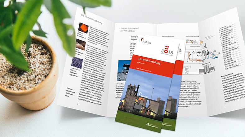 Broschüre zur Zementherstellung in Höver